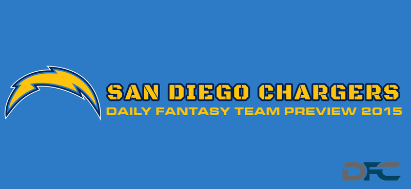 San Diego Chargers Daily Fantasy Team Preview