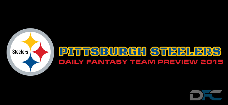 Pittsburgh Steelers Daily Fantasy Team Preview