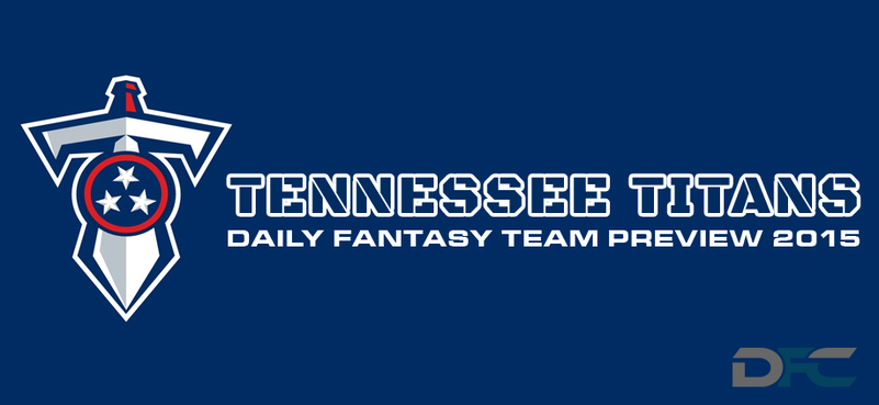 Tennessee Titans Daily Fantasy Team Preview