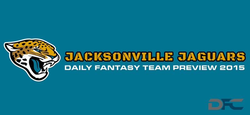 Jacksonville Jaguars Daily Fantasy Preview