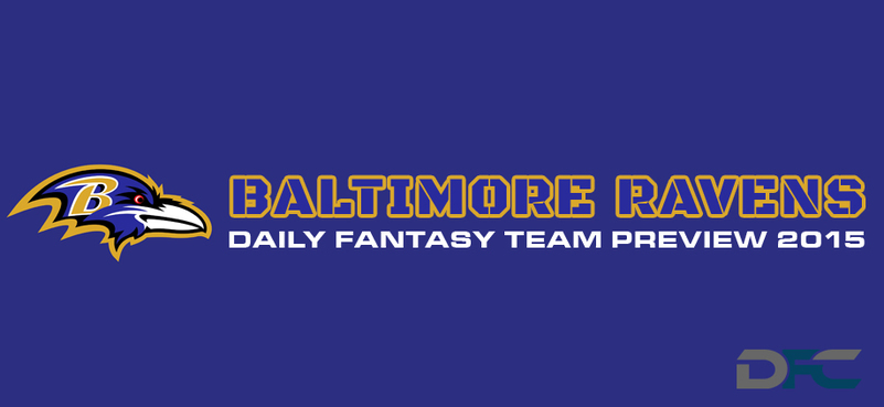 Baltimore Ravens Daily Fantasy Team Preview
