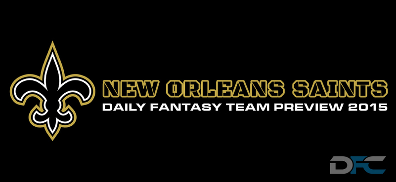 New Orleans Saints Daily Fantasy Preview