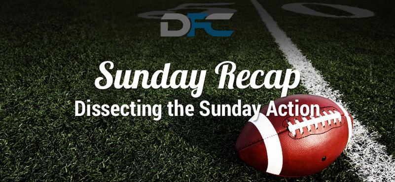 NFL Sunday Recap: Week 9