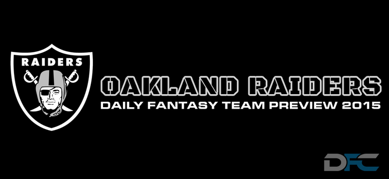 Oakland Raiders Daily Fantasy Team Preview