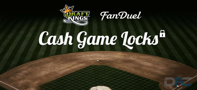 MLB Cash Game Picks: 8-12-15