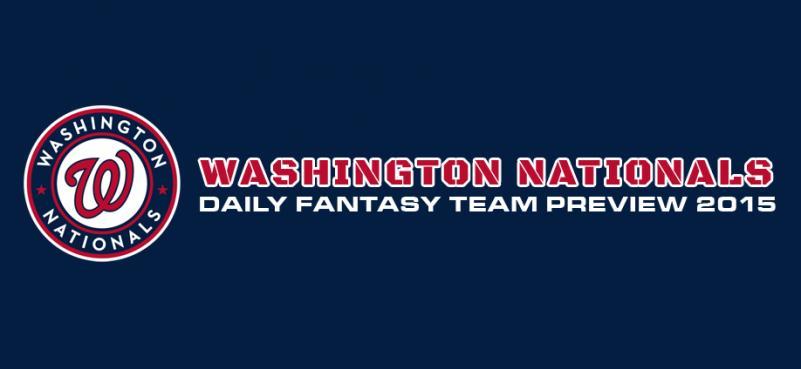 Washington Nationals - Daily Fantasy Team Preview 2015