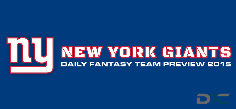 New York Giants Daily Fantasy Preview