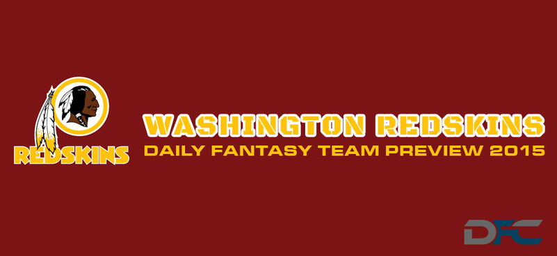 Washington Redskins Daily Fantasy Team Preview