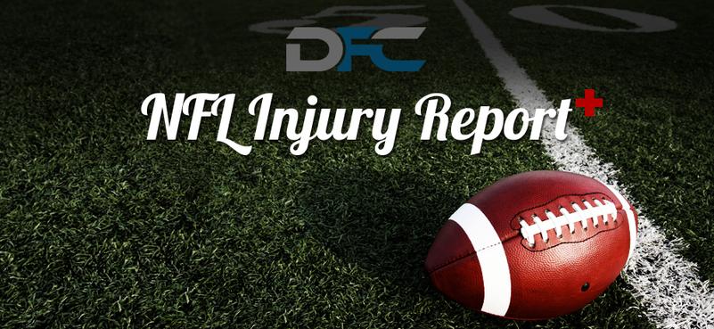 NFL Injury Report: Week 1
