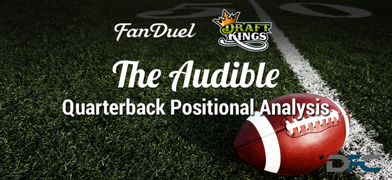 Quarterback Analysis: NFL Week 1