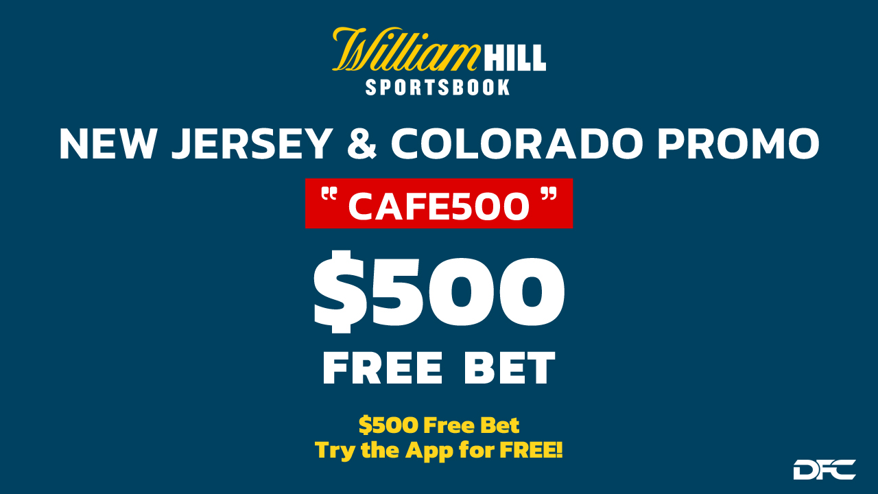new jersey, colorado william hill promo