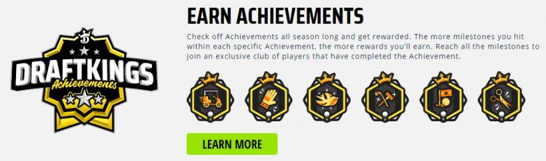 Draftkings achievements