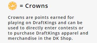 Draftkings crowns