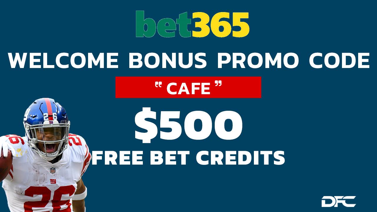 Bet365 Welcome Bonus $500
